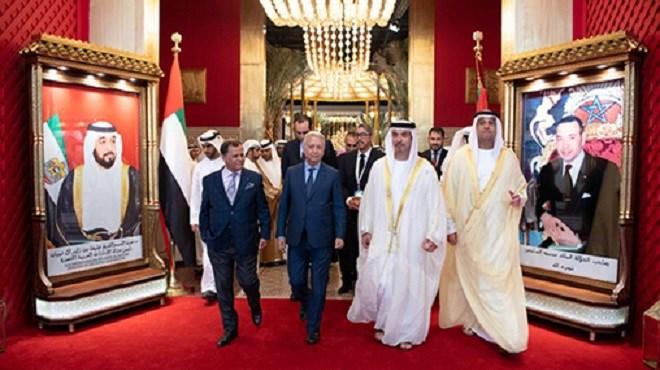 """Ouverture de la 4è édition de l'évènement culturel """"Le Maroc à Abu Dhabi"""""""