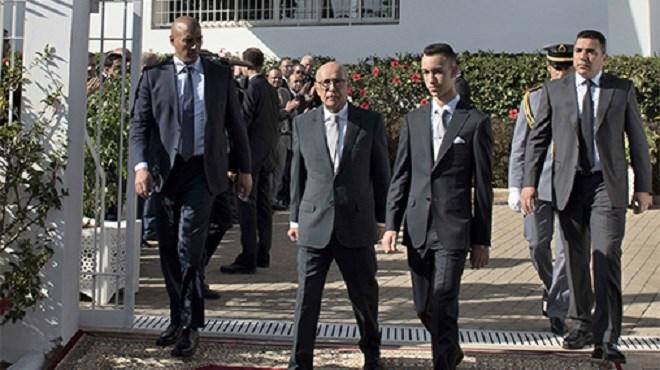 Le Prince Moulay El Hassan préside l'inauguration de la frise chronologique de la fondation Abou Bakr El Kadiri