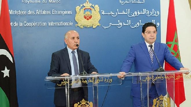 Le Maroc réitère son appel aux parties libyennes à privilégier l'intérêt suprême et à adhérer sérieusement au processus politique