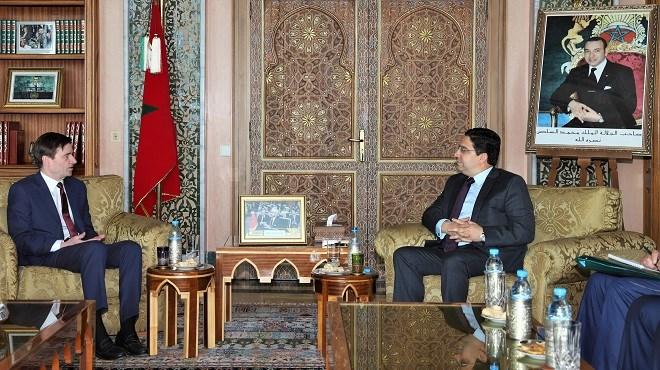 Rabat : Nasser Bourita reçoit le sous-secrétaire d'Etat américain aux affaires politiques