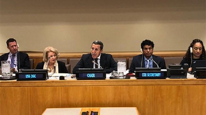 L'Ambassadeur Omar Hilale élu à la tête du Comité de l'information des Nations-Unies