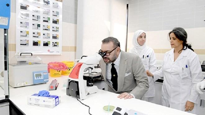 SM le Roi inaugure le Centre de radiologie et d'analyses médicales de la Sûreté Nationale à Rabat