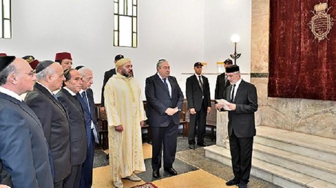 SM le Roi, donne Ses Très Hautes Instructions au ministre de l'Intérieur pour l'organisation des élections des Instances représentatives des communautés israélites marocaines
