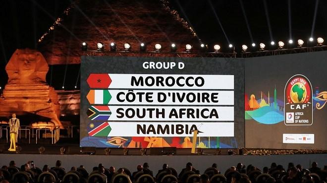 CAN Egypte-2019 : Le Maroc dans le groupe D