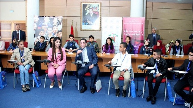 Ifrane : Les enfants parlementaires en action