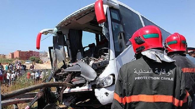 Agadir : Deux morts et 26 blessés suite au renversement d'un véhicule transportant les ouvriers d'une conserverie de poisson