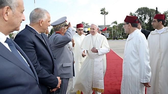 le Pape François quitte le Maroc au terme d'une visite officielle