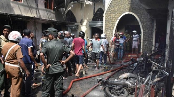 Sri Lanka : Série d'attentats contre des églises et hôtels