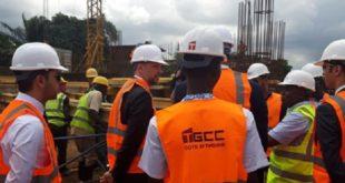 """Abidjan : Jazouli visite le chantier de la mosquée """"Mohammed VI"""""""