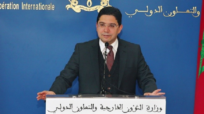 """Bourita souligne l'importance """"particulière"""" de la résolution 2468 sur le Sahara adoptée mardi par le Conseil de sécurité de l'ONU"""