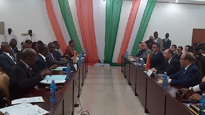 Accords de coopération : Le Maroc et la Côte d'Ivoire font le point