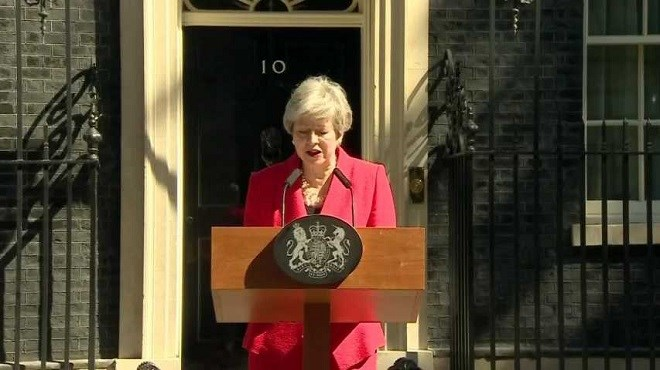 Royaume-Uni : Theresa May annonce sa démission