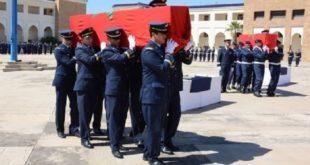 Forces Royales Air : Funérailles officielles pour les victimes du crash de Tichla