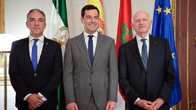 André Azoulay reçu à Séville par le président du gouvernement andalou