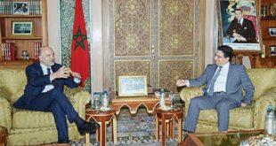 Rabat : Nasser Bourita s'entretient avec Pierre Moscovici