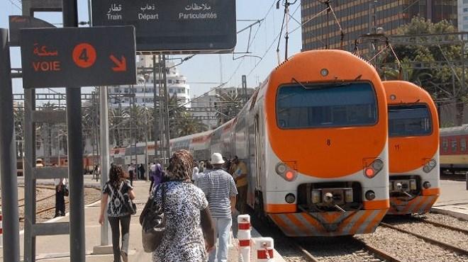 """ONCF : Un million de voyageurs ont pris le train pour leurs déplacements pendant """"Aid Al Fitr 1440"""""""