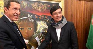 Omar Hilale, président du Conseil exécutif de l'UNICEF, en visite de travail en Colombie