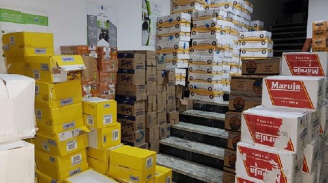 Tétouan : Saisie de marchandises de contrebande d'une valeur de plus de 0,5 MDH