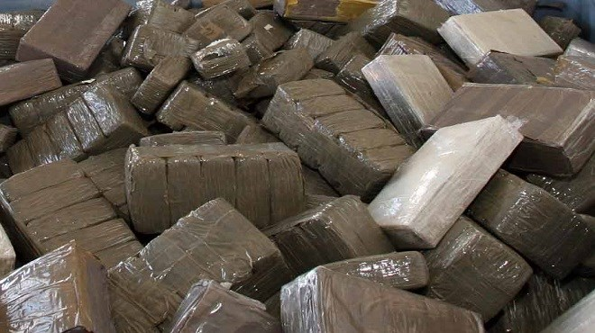 Bab Sebta : Saisie de 20 kg de résine de cannabis