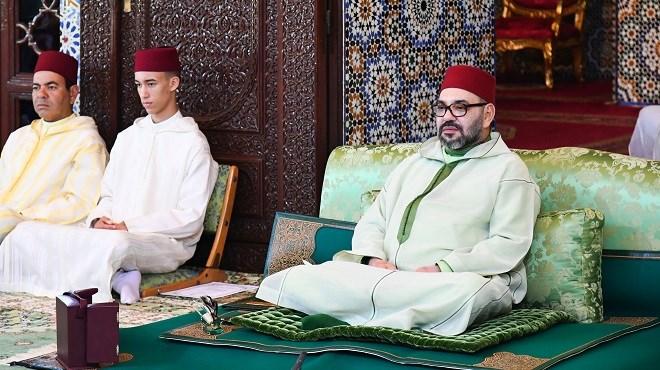 SM le Roi, préside ce vendredi la première causerie religieuse du mois sacré de Ramadan