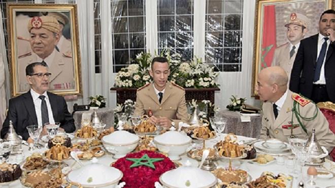 63è anniversaire de la création des FAR : Le Prince Héritier Moulay El Hassan préside un ftour-dîner