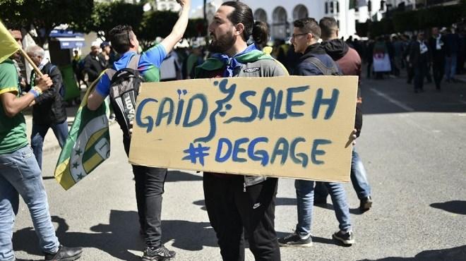 Algérie : Les étudiants dans la rue au lendemain d'un discours du patron de l'armée
