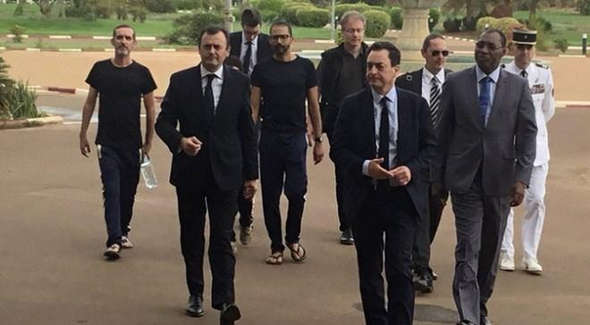 France : Retour au pays des ex-otages français libérés au Burkina Faso