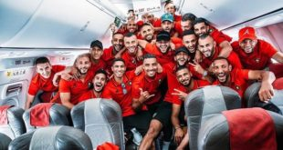 CAN-2019 : Arrivée des Lions de l'Atlas en Egypte