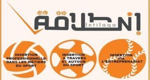 «Intilaqa» : L'employabilité des jeunes par le sport