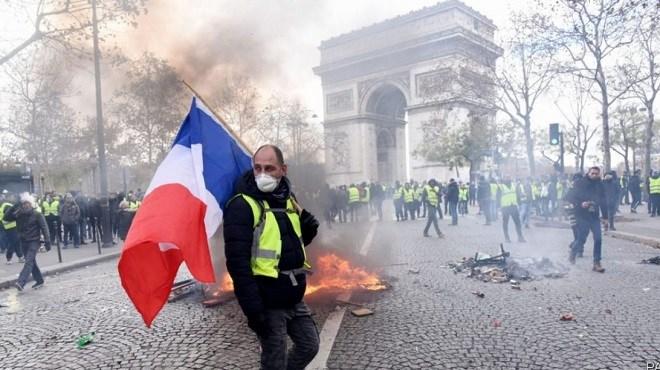 France : Acte 50 des Gilets Jaunes à Paris