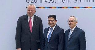 "Nasser Bourita au 3ème Sommet ""G20 Compact with Africa"" à Berlin"