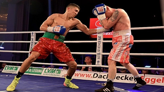 Boxe pro : Mohamed Rabii domine le Mexicain Jesus Gurrola