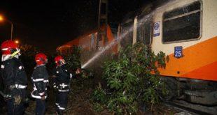 ONCF : Un train assurant la liaison Marrakech-Tanger prend feu