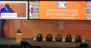 Dakar : Ouverture du Forum International sur la Paix et la Sécurité en Afrique