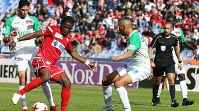 Coupe arabe Mohammed VI des clubs (8è de finale aller) : Match nul entre le Wydad et le Raja