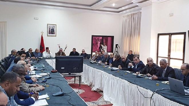 Errachidia : Réunion du Comité provincial de veille sur les mesures proactives contre les effets du froid