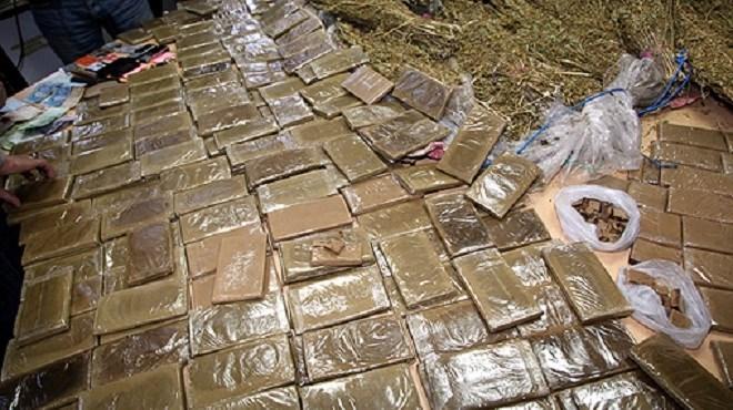 Fès : Saisie de plus de 13t de chira dans une ferme dans la région de Ras El-Ma