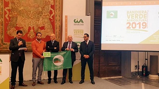 L'entreprise Green Solutions récompensée à Rome