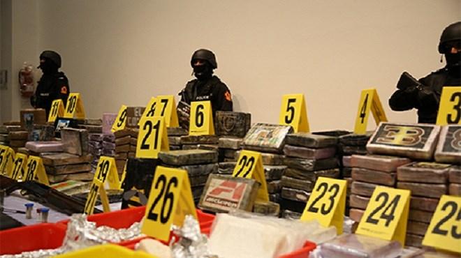 Rabat : Saisie de 476 kg de cocaïne dans un appartement à Harhoura