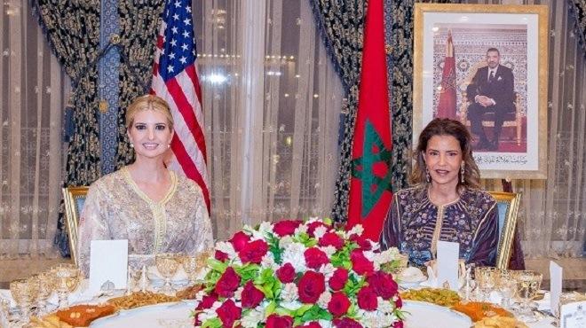 Ivanka Trump au Maroc : Recevoir, c'est tout un art