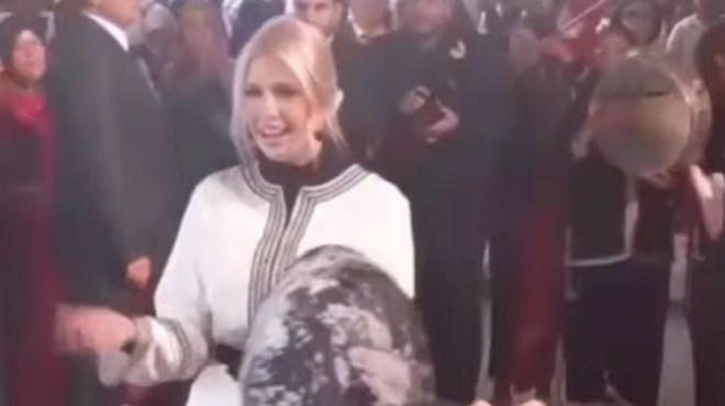 Ivanka Trump danse sur la Dakka Marrakchia (VIDEO)