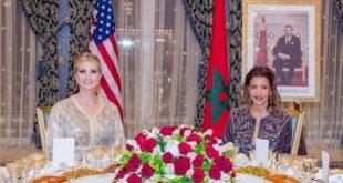 Maroc-Etats-Unis : SM le Roi offre un dîner en l'honneur d'Ivanka Trump