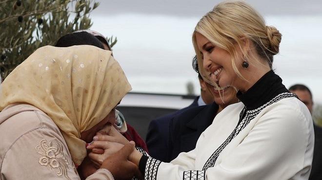 Ivanka Trump à Sidi Kacem : Quand grâce et élégance riment avec simplicité