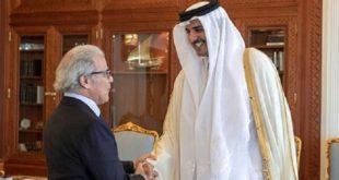 L'émir de Qatar reçoit Abdellatif Jouahri