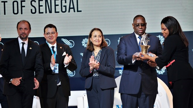 Le Président sénégalais Macky Sall reçoit à Tanger le Grand Prix MEDays 2019