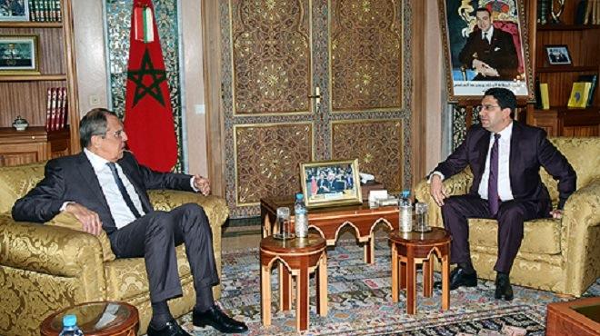 Entretien téléphonique entre Serguei Lavrov et Nasser Bourita