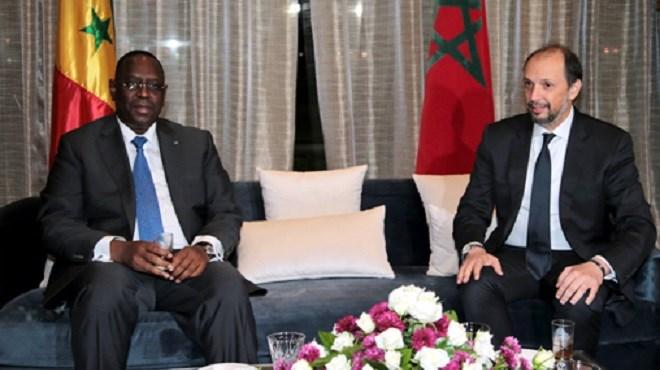 Tanger : Arrivée au Maroc du Président sénégalais Macky Sall