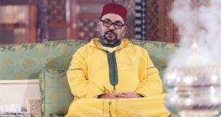 Le Roi Mohammed VI préside à Marrakech une veillée religieuse en commémoration de l'Aïd Al-Mawlid