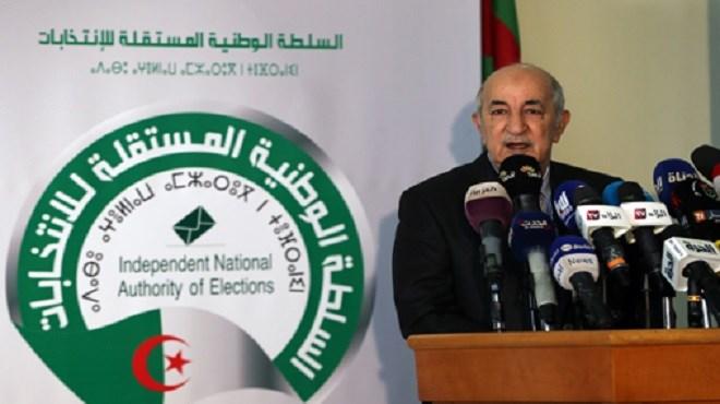 """Algérie : """"A. Tebboune"""", ex-Premier ministre de Bouteflika, élu président"""
