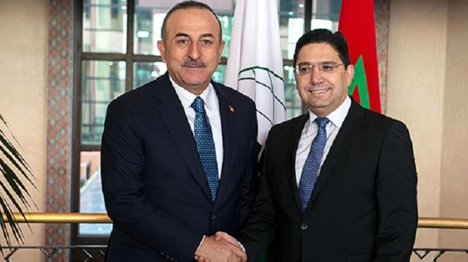 """La Turquie réitère son """"plein soutien"""" à l'intégrité territoriale du Maroc"""